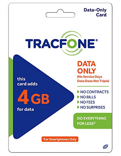 Tracfone Data 4GB Pin Add-On (Data Only For Android Smartphones)
