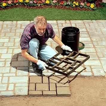 Amazon.com : Pathmate Concrete Stepping Stone Mold, Belgium : Square  Pathmate Concrete Stepping Stone Mold Belgium : Patio, Lawn U0026 Garden