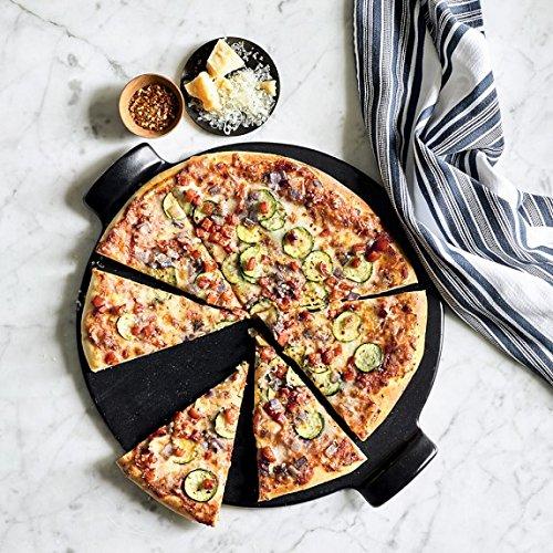 Pizza piedra set, Negro, schamott Panificadora ladrillo Set para ...