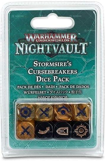 Warhammer Underworlds: Nightvault – Stormsires Cursebreakers Dice Pack: Amazon.es: Juguetes y juegos