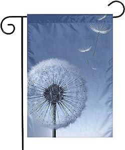Pooizsdzzz Sky Dandelion Festival Garden Flag Front Door Flag Decorative Home Outdoor Flag 1218 Inch