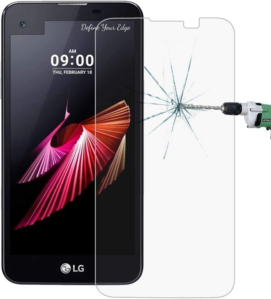 No Retail Package Glass Film DESHENG Clear Screen Protector 50 PCS for LG X Screen 0.26mm 9H Surface Hardness 2.5D Explosion-Proof Tempered Glass Film