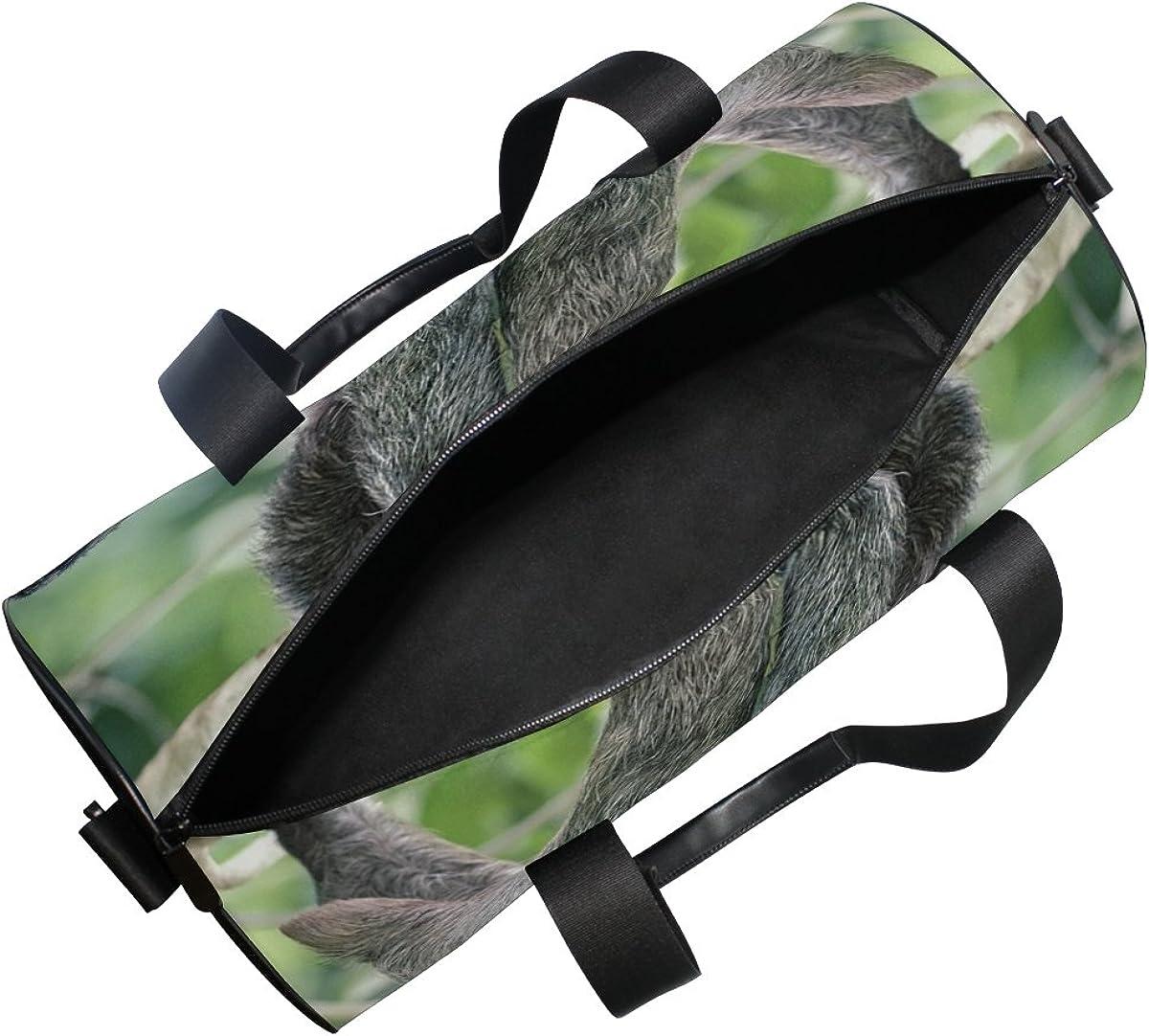Evolutions Sloth Travel Duffel Bag Sports Gym Bag For Men