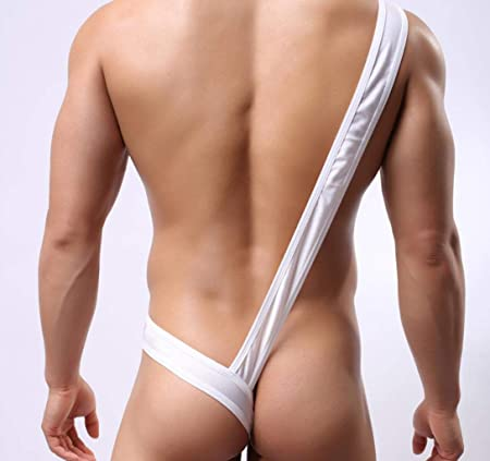 1329d9fed9370 Yter Men s Sexy Underwear - Gay Underpants Male Fancy Mankini Thong for  Cosplay Costume Lingerie  Amazon.co.uk  Kitchen   Home