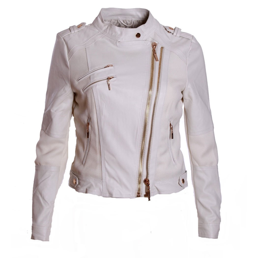 yes-zee - Chaleco Chaqueta Chaqueta clavo Bomber para mujer ...