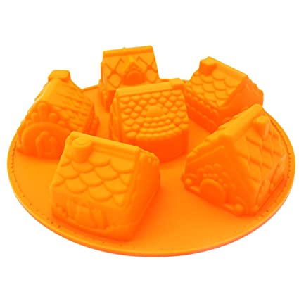 Strong-Willed Diy 3d Christmas Sled Carriage Fondant Cake Mold Clay Candle Mould Soap Moulds Always Buy Good Hair Extensions & Wigs