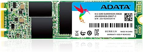 SSD Ultimate SU800 256G M.2 560/520 MB/s 3D 8cm: Adata: Amazon.es ...
