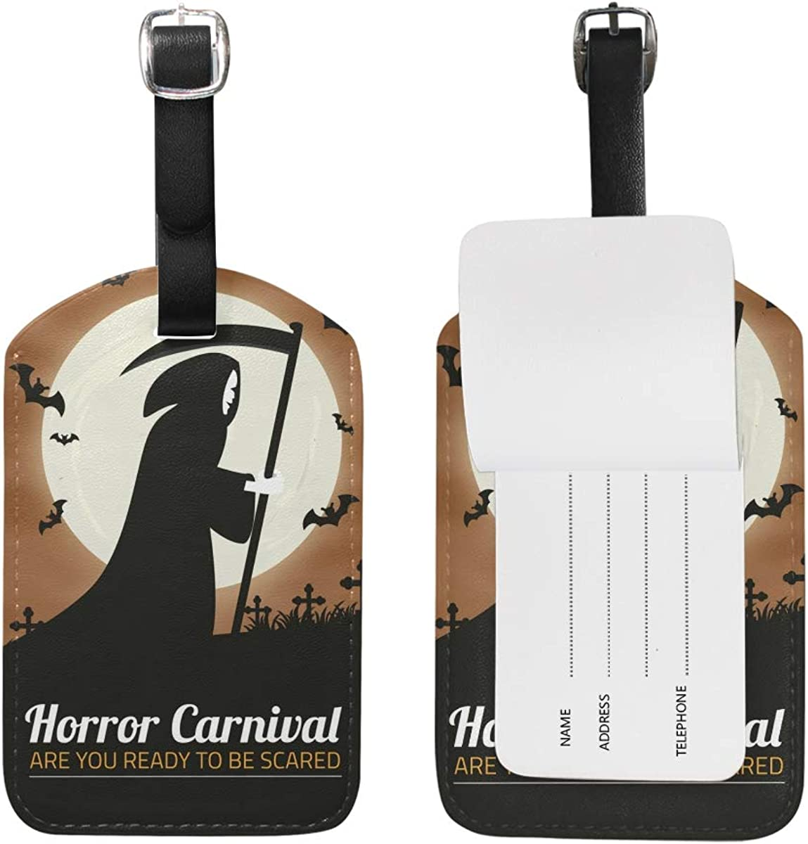 Fashion Luggage Bag ID Tag Holder Travel Suitcase Baggage Card Personalized