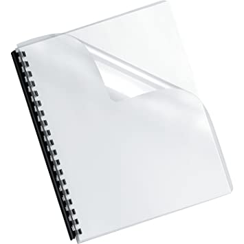 Amazon.com : Fellowes Binding Presentation Covers, Oversize Letter ...