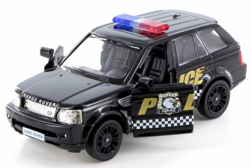 Amazon.com: RMZ City Land Rover Range Rover Sport Police, Black 555007P - Diecast Model Toy Car but NO Box: Toys & Games