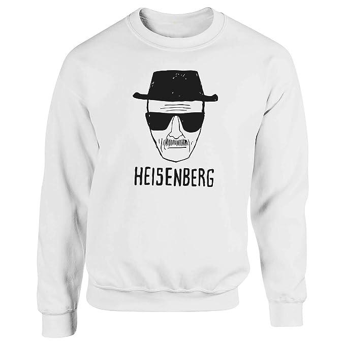 Heisenberg In Black Walter White Breaking Bad Blanca Sudadera con Capucha Unisex Medium: Amazon.es: Ropa y accesorios