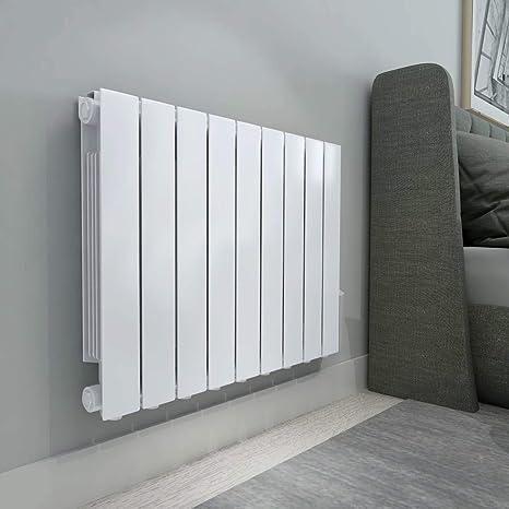 Design Radiator 900 Watt.Warmehaus Oil Filled Electric Radiator Thermostatic Wall Mounted Heater 577x778mm 1500w Slimline Fluid Inertia Radiator 24 7 Timer Lcd