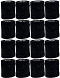 Powerflex 3'' Stretch Athletic Tape - BLACK - 16 Rolls