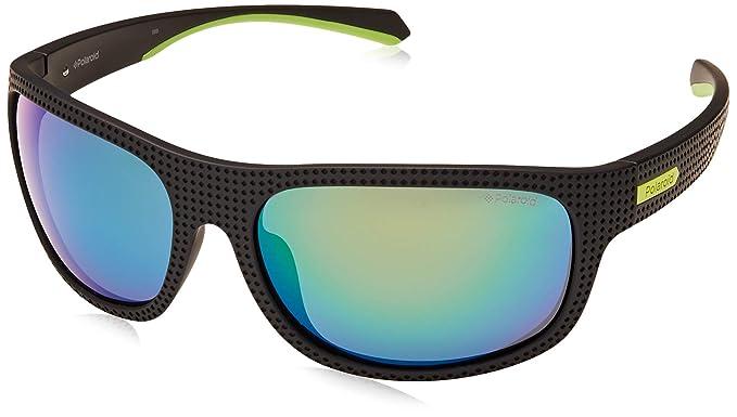 0379785f6d Polaroid Mirrored Rectangular Unisex Sunglasses - (PLD 7022/S 7ZJ ...