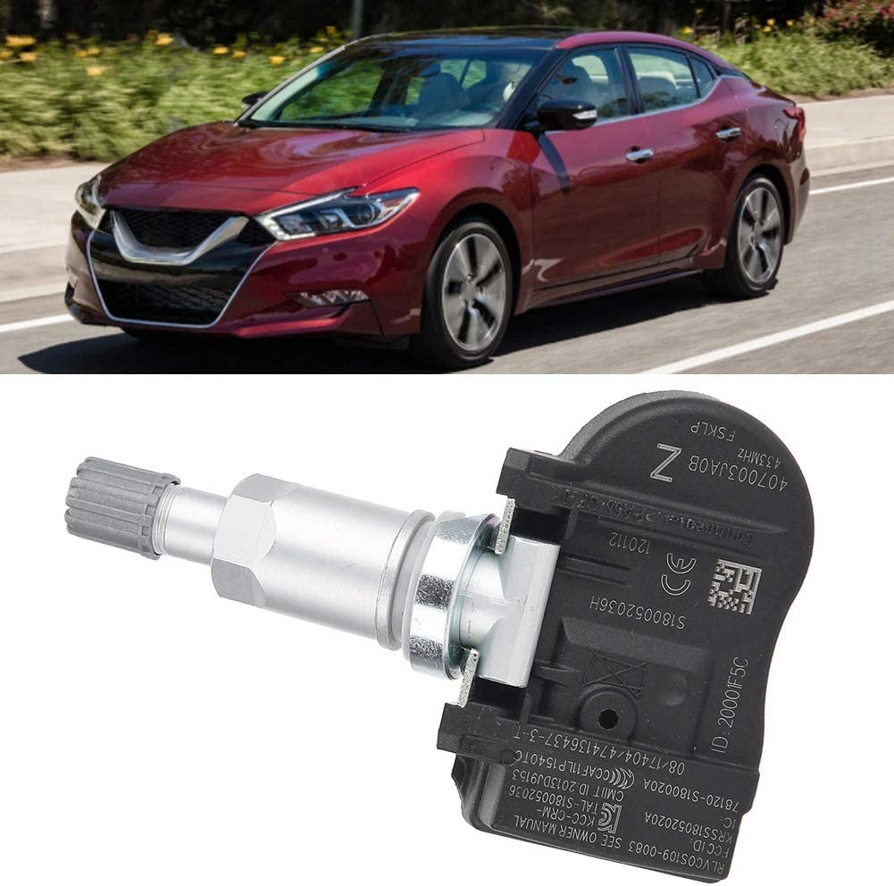 Terisass TPMS 40700-3JA0B 4Pcs Car Tire Pressure Monitoring Sensor ...
