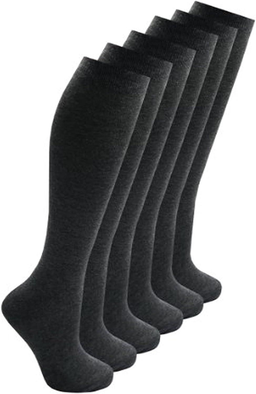 Filles Genou Haute Chaussettes 2 Pack et 4 Pack /École Chaussettes