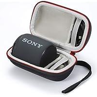 Etui pour Sony XB10, Housse de Transport Rigide pour Sony SRS-XB10. (boîtier Seulement, Haut-Parleur et Accessoires ne sont Pas Inclus) - Noir