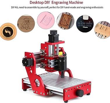 Vogvigo CNC 1419 máquina de corte de grabado de metal enrutador, mini máquina CNC Fresadora de