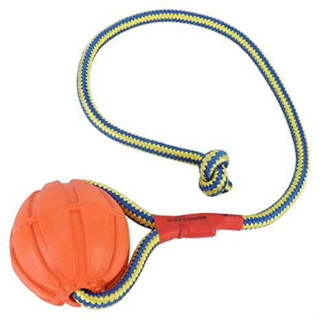 Pelota de Cuerda para Mascotas, 6 cm EVA portátil Adiestramiento ...