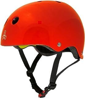 Triple Eight Brainsaver 2 MIPS Casco (L/XL - Red Glossy) 3158