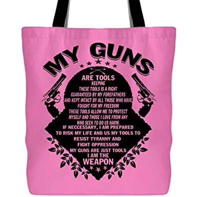 Amazon.com  My Guns Are Tools Tote Bag for Shopping b3b9a4c3ed133