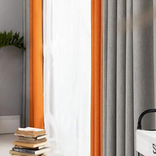 Best window curtain panel: Linen Textured Curtains
