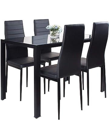 Astonishing Dining Table Sets Shop Amazon Uk Machost Co Dining Chair Design Ideas Machostcouk