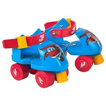 Super Wings - Patines ajustables Jett 16-20 cm (ColorBaby 77011): Amazon.es: Juguetes y juegos