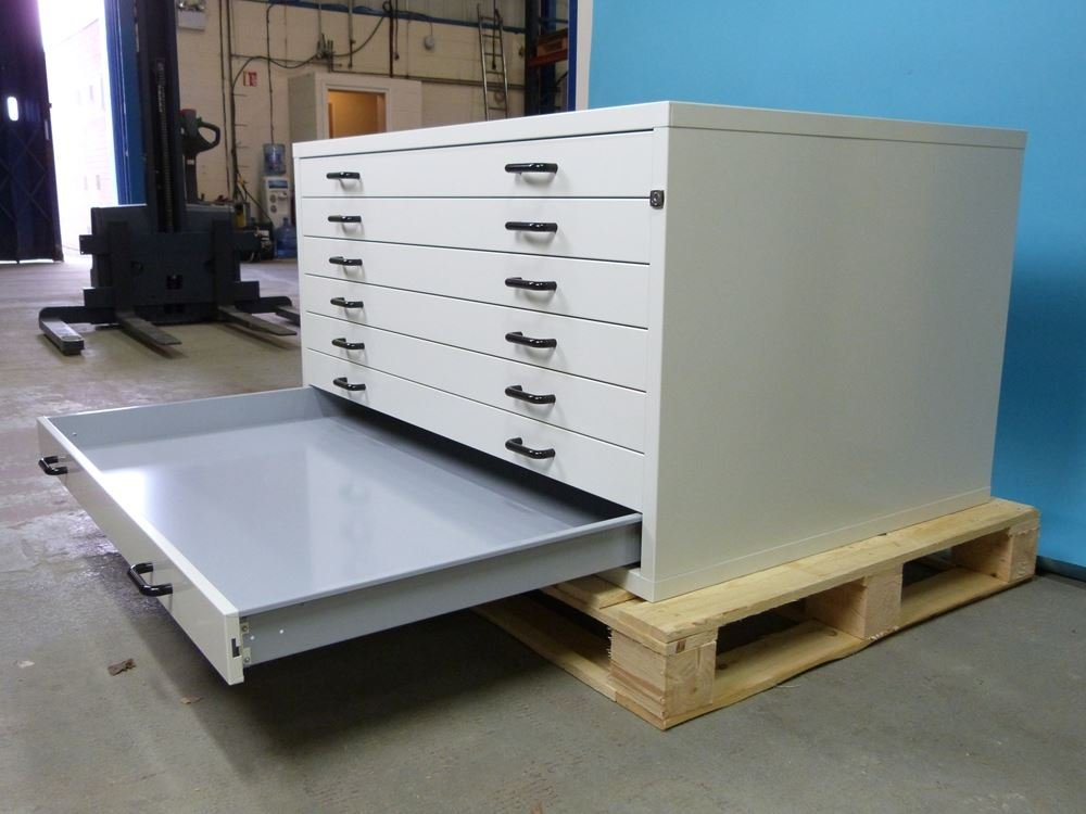BUDGET HORIZONTAL PLANCHEST A0 5 DRAWER