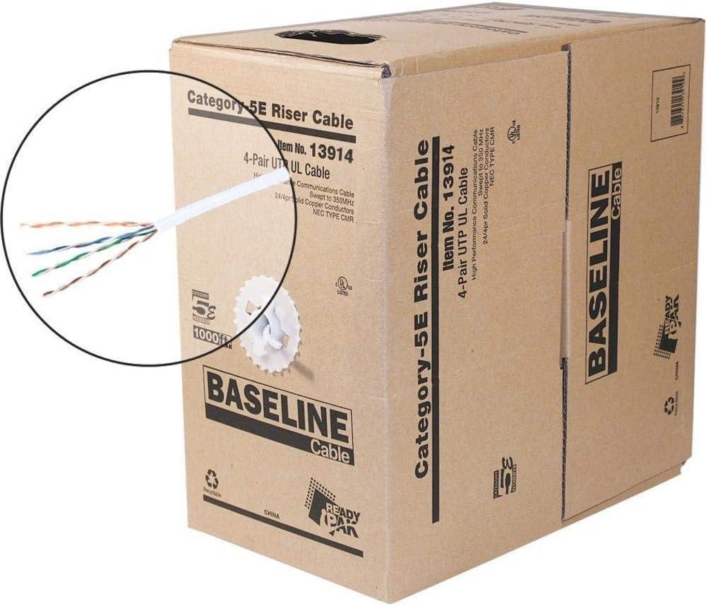 White Steren 13914 Baseline Series 350MHz CAT5e Cable