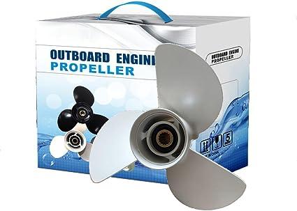 Aluminum Propeller Fit Yamaha 13 1//4 x 17 Prop 6E5-45945-01-00 13.25x17 Pitch