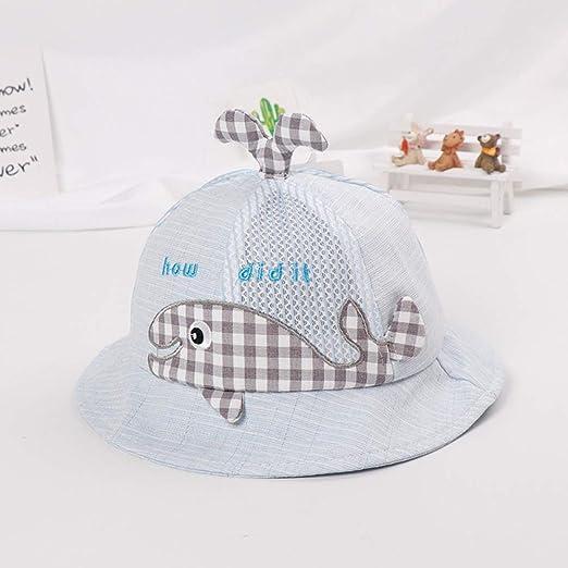zhuzhuwen Sombrero de Malla para niños de Ballena pequeña ...
