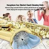 Saxophone Swab Alto,Alto Sax Cleaning Brush Pull