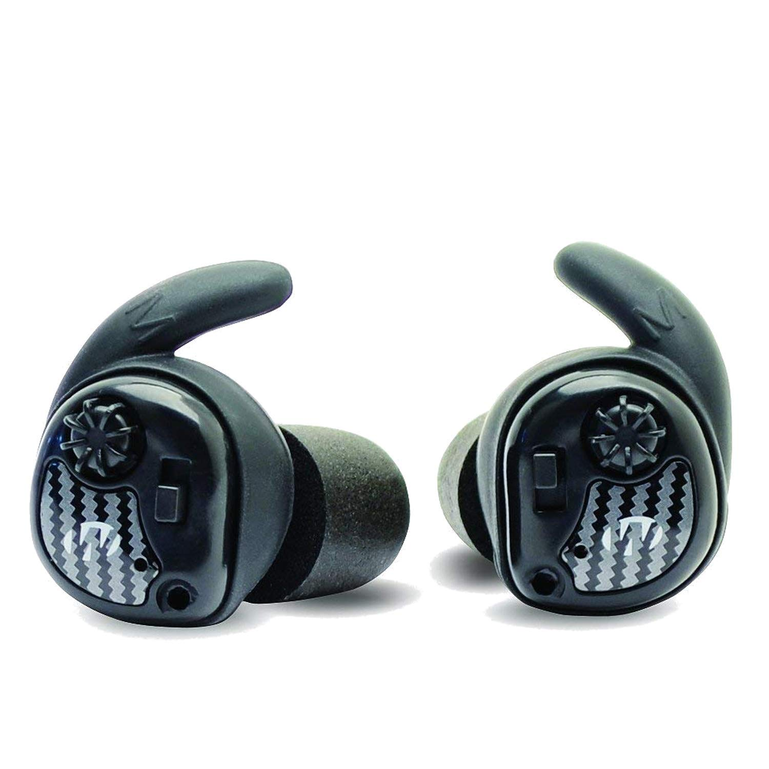 Walker's Silencer Digital Earbuds, Sound Activated Compression, NRR25dB, Dynamic Wind Reduction by Walker's Game Ear