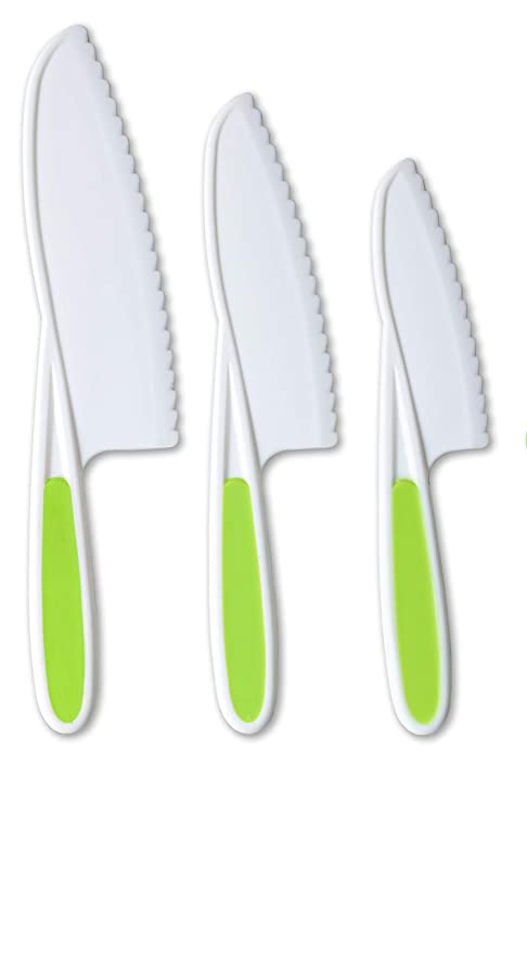 Juego de cuchillos de cocina Tovla para niños, 3 piezas, de ...