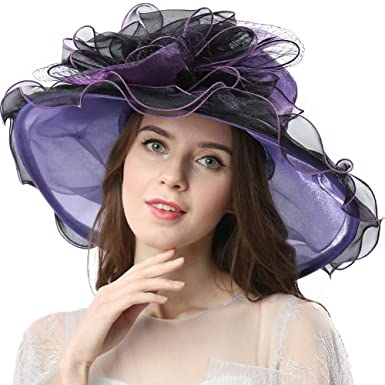 New Feather Bow Detail Ladies Large Fascinator Ascot Wedding Top Hat