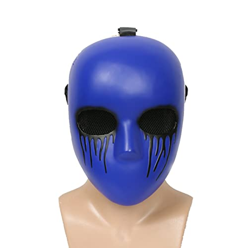 xcoser Eyeless Jack Mask Blue Deluxe Resin Adult Cosplay Costume Halloween Accessory