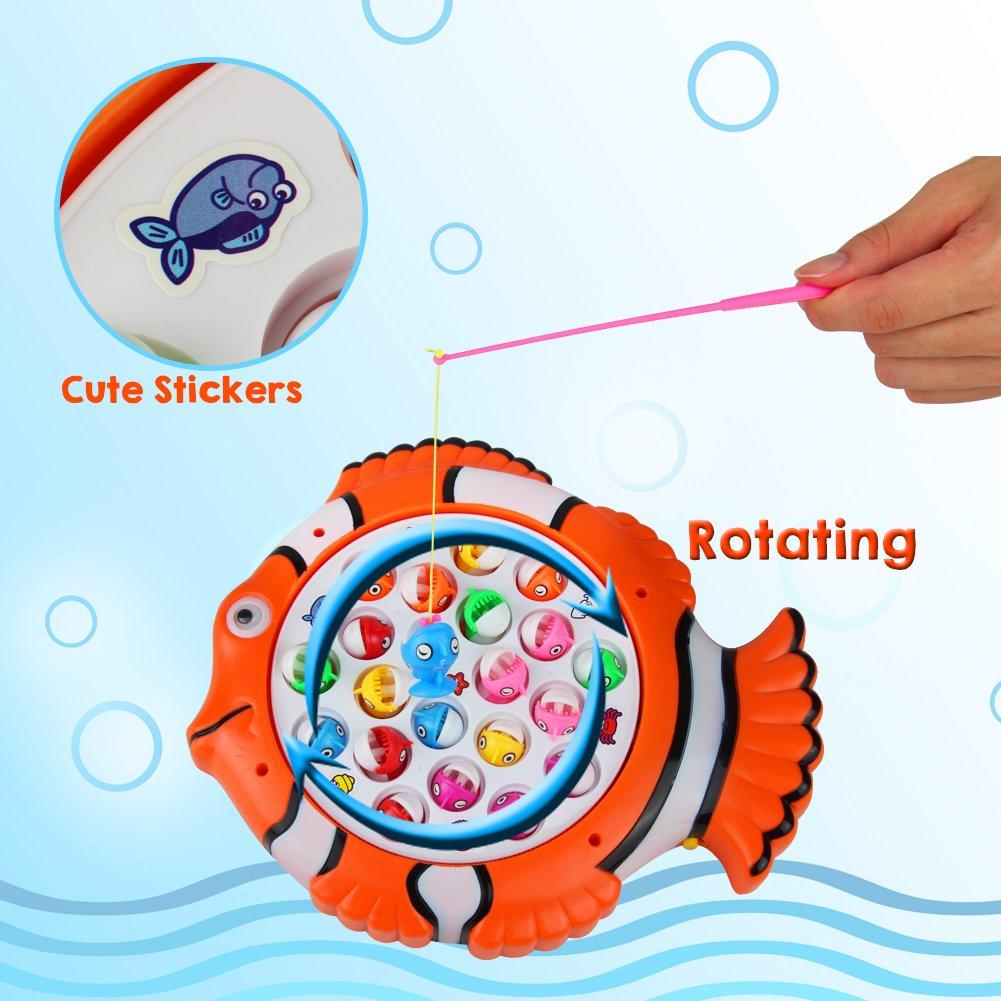 TONZE Fishing Board Game