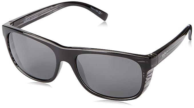 f488388700 Amazon.com  Revo Lukee RE 1020 01 GY Polarized Square Sunglasses ...
