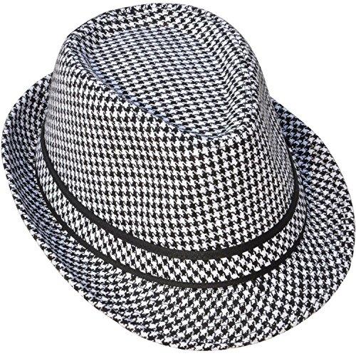 Simpl (Black Stove Pipe Hat)