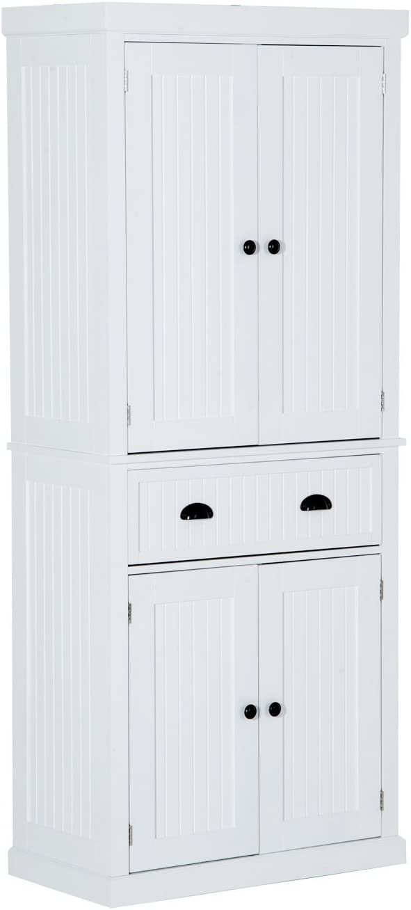 HOMCOM Colonial Storage Cabinet Kitchen Pantry  sc 1 st  Amazon.com & Kitchen Pantries | Amazon.com