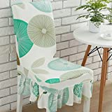 Wall of Dragon Elastic Big Swing Dining Chair Cover Brief Plaid Geometry Floral Chair Cover Party Office Computer Chair Seat Cover