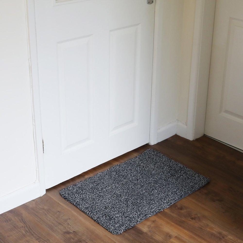 New Clean Step Mat Super Absorbent Doormat Microfiber Washable ...