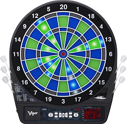 Viper Ion Illuminated Electronic Soft-Tip Dartboard by Viper