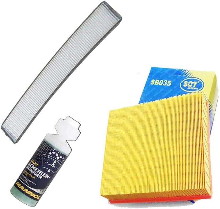 Inspektionspaket Filteristen Pollenfilter Sct Luftfilter Und Geschenk Auto