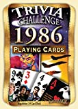 1986 Trivia Playing Cards: 31st Birthday Gift or 31st Anniversary Gift