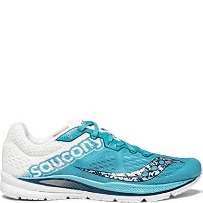 2d6171c9 Saucony Women's Fastwitch 8 Cross Country Running Shoe Teal/White 5 Medium  US