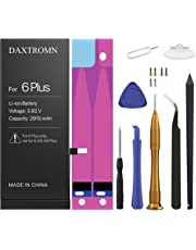 DAXTROMN Replacement Battery Compatible with iPhone 6 Plus- Repair Kit with Tools, Adhesive Strips - 2915 mAh 0 Cycle - 2 Years Warranty