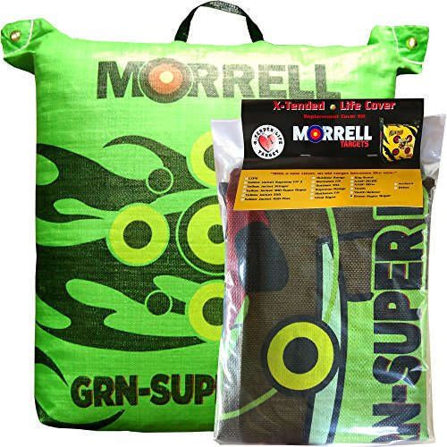 Morrell GRN Super Duper Field Point Bag Archery Target Replacement Cover (Cover ONLY)