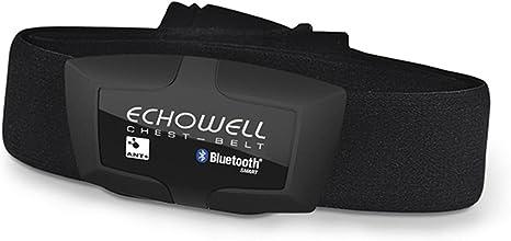 Pulsometro Transmisor Frecuencia Cardiaca ECHOWELL DMH30 Dual por Bluetooth 4.0 ANT+ para Bicicleta Ciclismo GPS 3947: Amazon.es: Deportes y aire libre